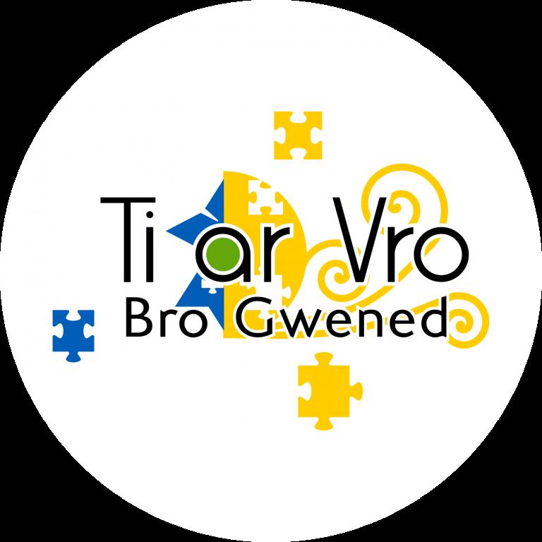 Logo de Ti ar Vro avec pièces de puzzle