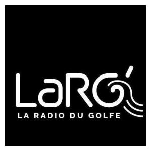 Logo carré de RADIO LARG'