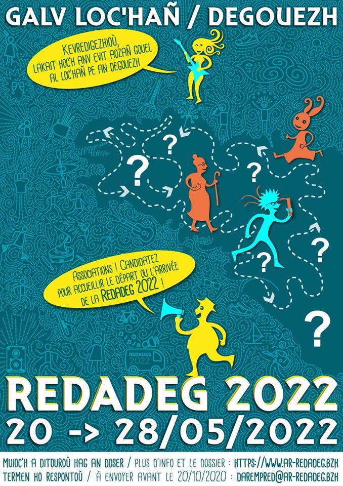 Redadeg 2022 - Appel à candidature