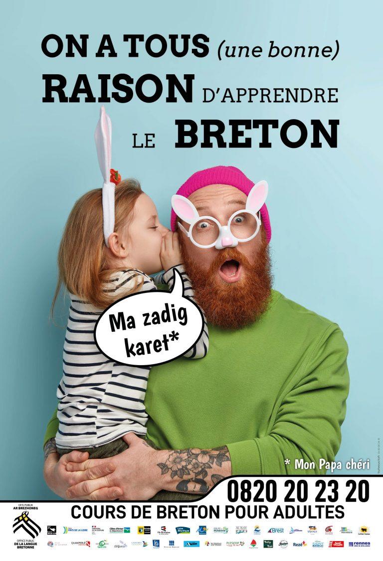 Cours de breton pour grands enfants (DAO)